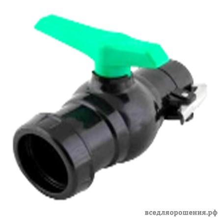 Кран шаровой для быстроразборных систем 4″ — 110 мм