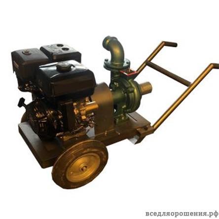 25 HP бензиновая мотопомпа — электрический стартер