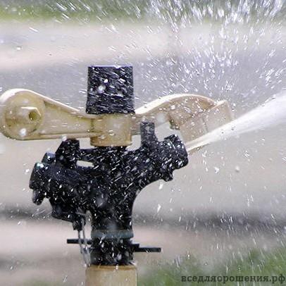 Секторные дождеватели типа Impact компании Senninger